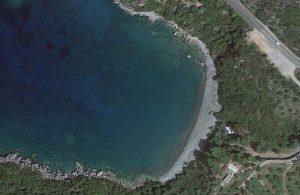 Delfinia Beach Map view