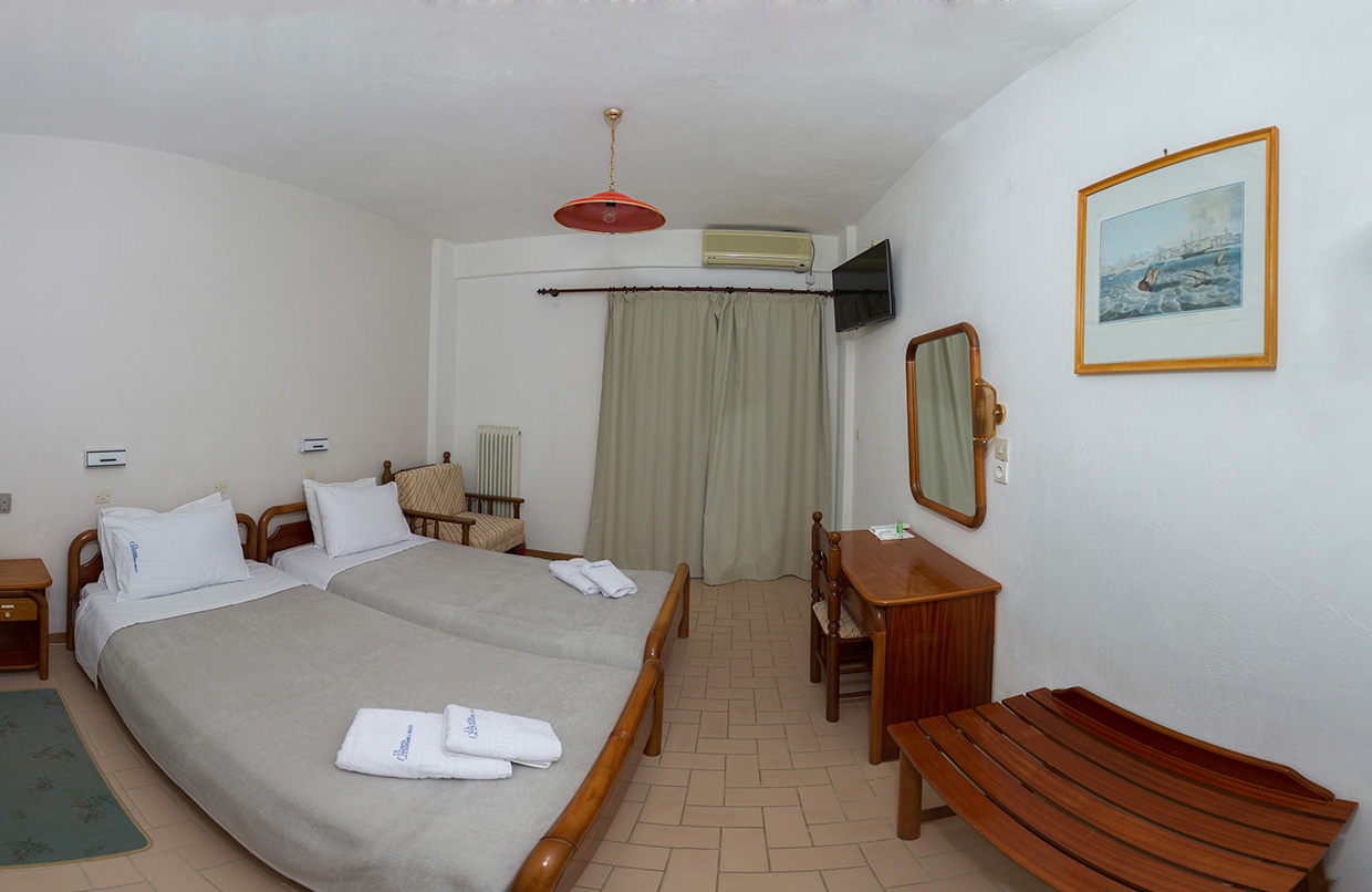 Kardamili Beach Hotel Twin Room & Extra Bed