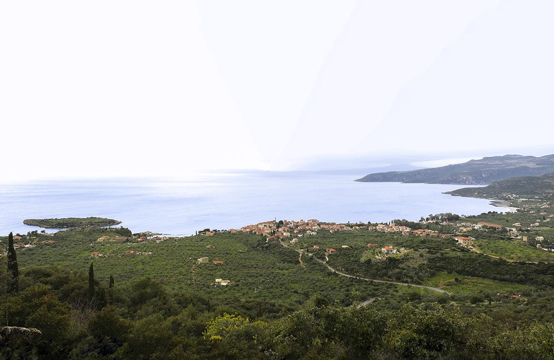 Kardamili View From Petrovouni