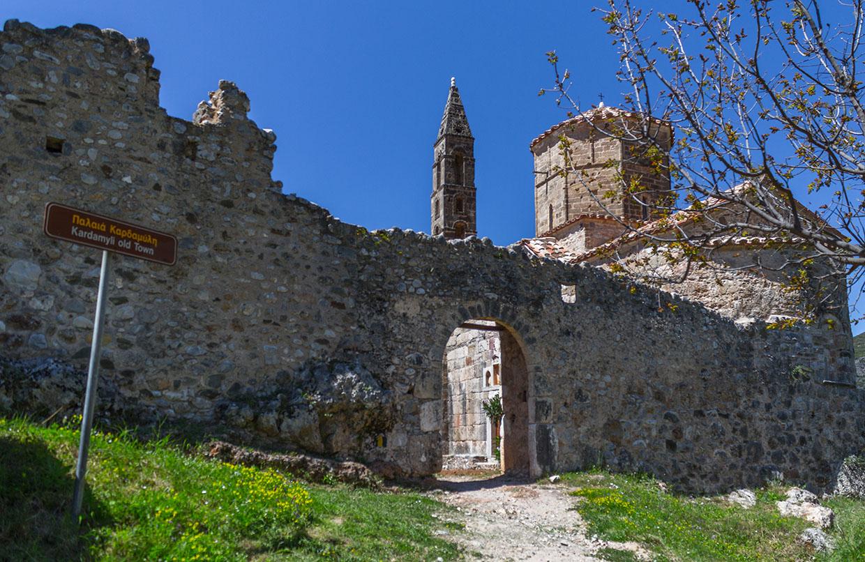 Kardamili Old Town
