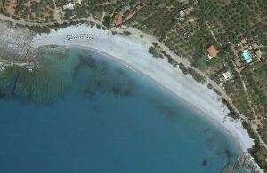 Ritsa Beach Map view